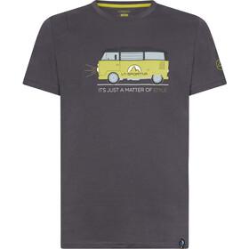 La Sportiva Van Koszulka Mężczyźni, carbon/kiwi